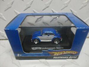 Hot Wheels 1:87 Scale Blue Box Blue Volkswagen Bug