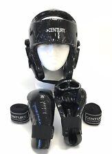 Century Kids Boxing Sparing Helmet & Gloves Size S/M EXCELLENT CONDITION
