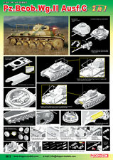1/35 Dragon Pz.Beob.Wg.II Ausf.A-C 2 In 1 #6812