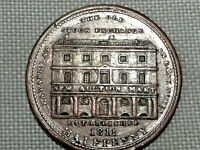Middlesex London Conder Token 1811 Half 1/2 Penny Old Stock Exchange Thomas Wood