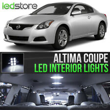 White LED Lights Interior Kit Package Bulbs For 2008-2013 Nissan Altima Coupe