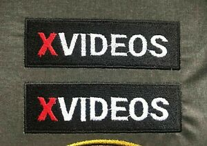 X VIDEOS XVIDEOS FUNNY PORN IRON ON SPORTS Embroidery 1 PIECE Patch Logo Emblem
