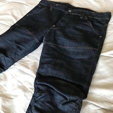 G Star Raw Denim Blue Mens Jeans Size 34/30
