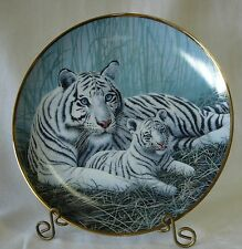 'White Tigers' By Michael Matherly National Wildlife Federation Plate