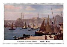 Blick auf Konstantinopel XL Druck 1916 Georg Macco * Aachen Istanbul Türkei +