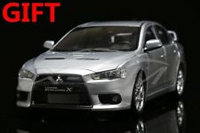Car Model Mitsubishi Lancer EVO-X BBS Wheels (Silver) Left 1:18 + SMALL GIFT!!!!