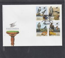 Portugal 2013 Birds Falcon First Day Cover FDC Lisboa pictorial h/s
