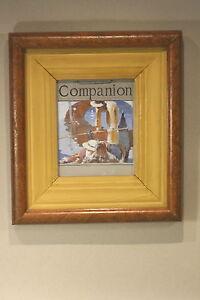 Vintage Fine Art Original Illustration Impressionistic Painting Italy Gondola