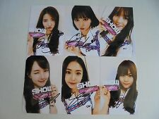 GFriend G Friend Korean Pop All Member Signed 6 Photo 4x6 Autographed USA Seller