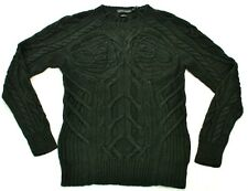 Ralph Lauren hombre etiqueta negra tejido a mano forrado Jersey talla mediana