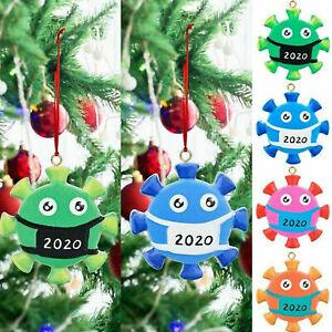 Christmas Tree Ornament 2020Covid Quarantine Family Xmas Lockdown Decoration