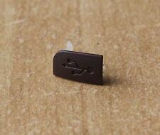 ORIGINAL NOKIA 6303/6303i USB-COVER, USB-ABDECKUNG, BRAUN (NEU, 9444166)
