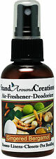 Premium Concentrated Air Freshener  - 2oz - Gingered Bergamot /Room Deodorizer