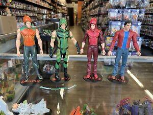 Smallville DC Direct set of 4 Action figure lot