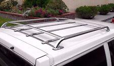 Volvo 240 740 760 940 960 Roof Luggage Rack 245 Wagon Chrome OEM