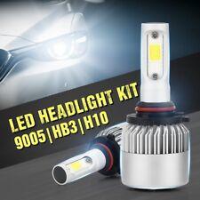 9005 H10 HB3 9145 Dual LED Headlight  Headlamp Bulb 200W 20000LM Hi/Low Beam