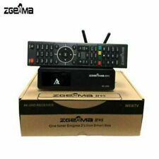 New Zgemma Star H9S built in wifi 4K IPTV UHD Single Receiver - DVB-S2X Stalker