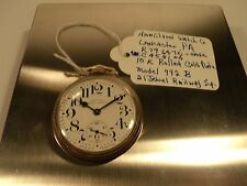 Hamilton Watch Co.,992B 21 Jewel Railway Special,10K Gold Filled Pocket Watch