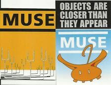 MUSE bunch of 3 stickers STICKER SET - 90s ex tour stock