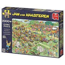 Jan van Haasteren Puzzle Rasenmäherrennen 19022 Jumbo 2000 Teile NEU OVP
