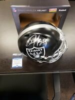 Bo Jackson Autographed Full Sized Speed Blaze Helmet Oakland Raiders Beckett Coa