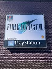 FINAL FANTASY VII 7 - Jeu Playstation 1 PS1 - Complet Pal FR - Excellent État