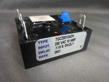 TGC20010A2H CUBE RELAY TIMER 230VAC 10 AMPS .1-10 S. On-Dly AIROTRONICS LR41183
