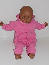"""Vintage African American KS Toys - 21"""" Baby Doll Cloth Body #TS-20"""
