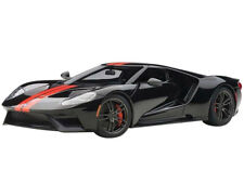 AUTOart 72945 2017 Ford GT 1:18 Model Car Shadow Black with Orange Stripes