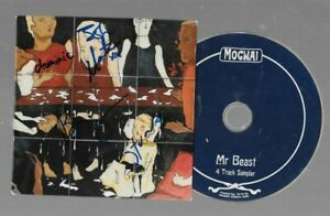 MOGWAI - mr beast    -  SIGNED - Autogramm -  INCL CD