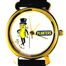 Planters Peanut Collectible Relic Pyramid Cut Glass Crystal New Unworn Watch $99
