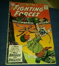 OUR FIGHTING FORCES #56 Gd 2.0 gunner and sarge golden age war comics collection