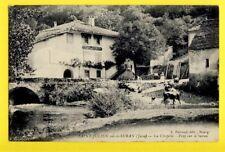 cpa FRANCE 39 - VAL SURAN (Jura) Saint Julien La CHAPELLE Café du PONT