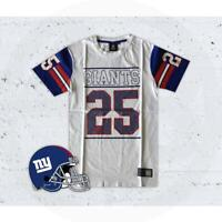MAJESTIC ATHLETIC NEW YORK GIANTS ROCKSHAW COACH T-SHIRT MNG1254WB