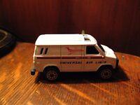 Universal Air Lines Toy Truck - Retro Airlines Ramp Cargo Luggage Miniature Van