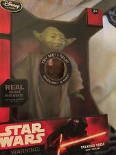 Star wars  Yoda  10  inch  talking  figure with light up lightsaber
