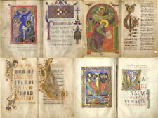 45 ANCIENT MEDIEVAL GOSPELS BIBLE MANUSCRIPTS CHRISTIANITY BOOKS - VOL.1 ON DVD