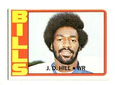 1972 Topps #188 J.D. Hill Buffalo Bills Rookie