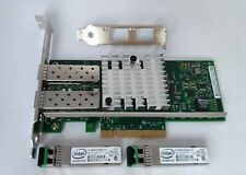 X520-SR2 Intel 10GB 2P Ethernet Converged Network Adapter E10G42BFSR W/ SFPs