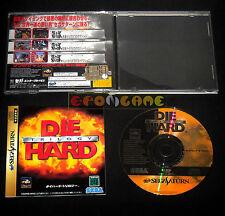 DIE HARD TRILOGY Sega Saturn Versione Giapponese NTSC ••••• COMPLETO
