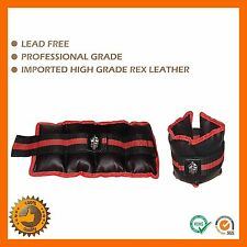 5 KG ANKLE WEIGHTS WRIST FITNESS EXERCISE WEIGHT FITNESS GYM YOGA WORKOUT STRAPS