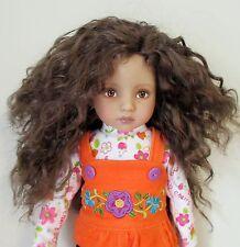 Monique Ellowyne Rose Wig 7/8 Effner Little Darlings MSD's LARGE fits EID Brown