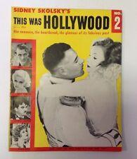 This Was Hollywood #2    1955 Movie Magazine     John Gilbert   Greta Garbo