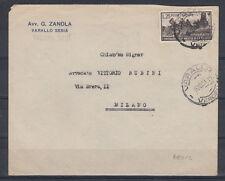 1951 MICHETTI SU BUSTA USATO BEN CENTRATO