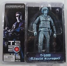 """T-1000 Liquid Nitrogen Terminator 2 Judgment Day Movie 7"""" Figure Neca"""
