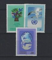 NATIONS UNIES - Vienne Yvert n° 187/189 neuf sans charnière