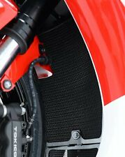 Honda CBR1000RR Fireblade 2008-2016 R&G Black Radiator Guard   RAD0065BK