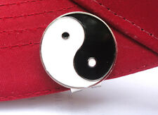 Yin Yang Metal Golf Ball Marker w/Magnetic Hat Clip