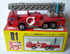 SHINSEI MINI POWER AERIAL LADDER FIRE ENGINE POMPIERS