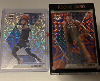 Zion 🔥 Ja Morant 🔥 5 Card REPACK *READ* Mosaic Fastbreak/Mega/Blaster/Cello